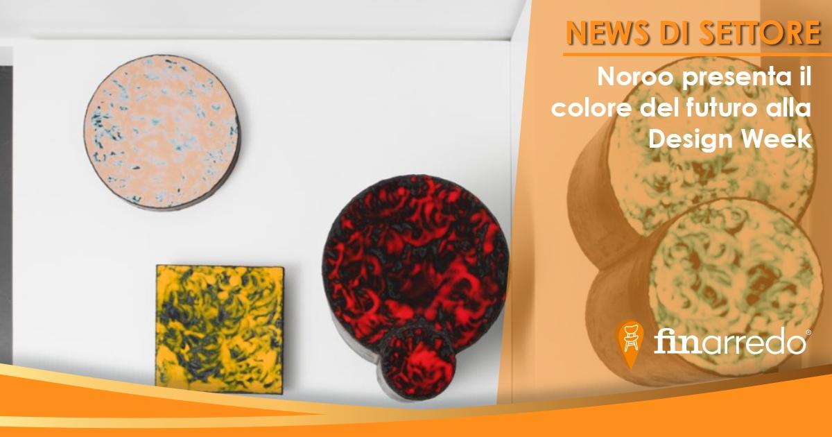 Noroo presenta il colore del futuro alla Design Week