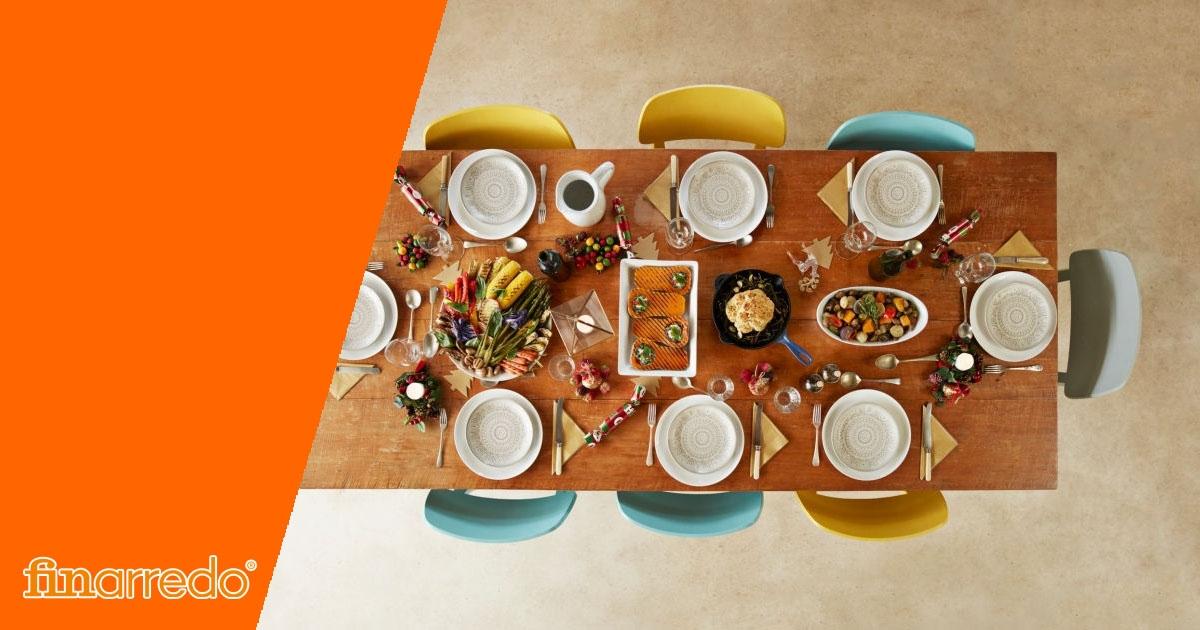 Tavolo quadrato, rotondo o rettangolare?